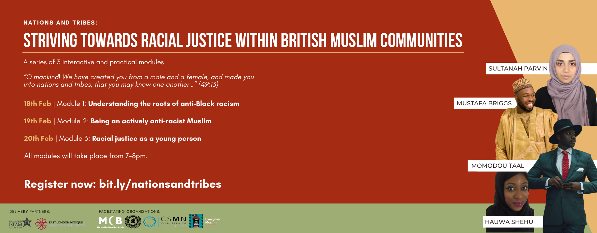 Nations and Tribes: Striving Towards Racial Justice Within British Muslim Communities