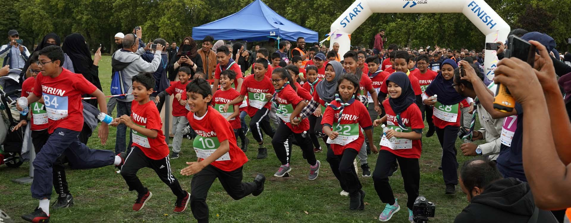 £1000s raised for good causes in Muslim Charity Run