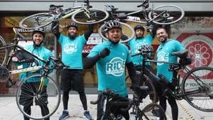 Ride 4 Your Mosque cyclists bike it from Cambridge to the East London Mosque